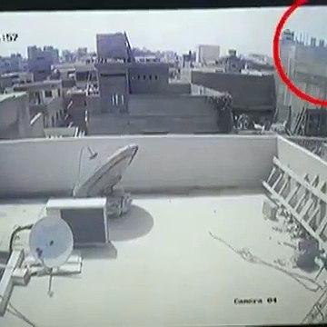 Pakistani plane crash CCTV footage|PIA plane crash CCTV footage