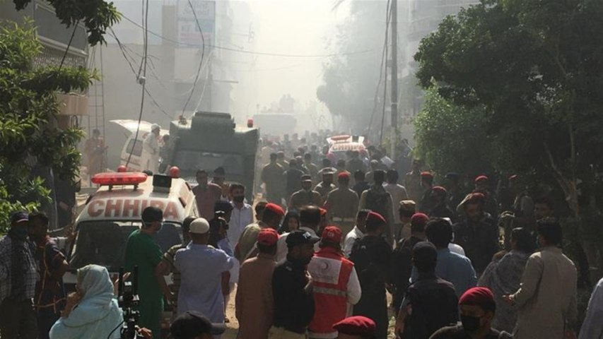 Dozens killed in Pakistan passenger plane crash