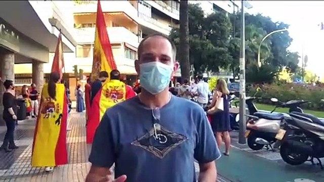 Sexta jornada de protestas en Sevilla contra el Gobierno de Pedro Sánchez