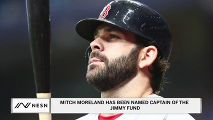 """Mitch Moreland Has Been Named Captain Of The Jimmy Fund To Help Raise Money To """"Strike Out Cancer"""""""