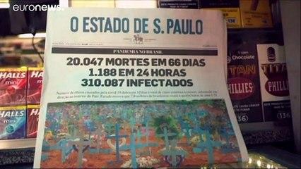 Sudamérica se convierte en el nuevo epicentro de la pandemia con Brasil como el país más afectado