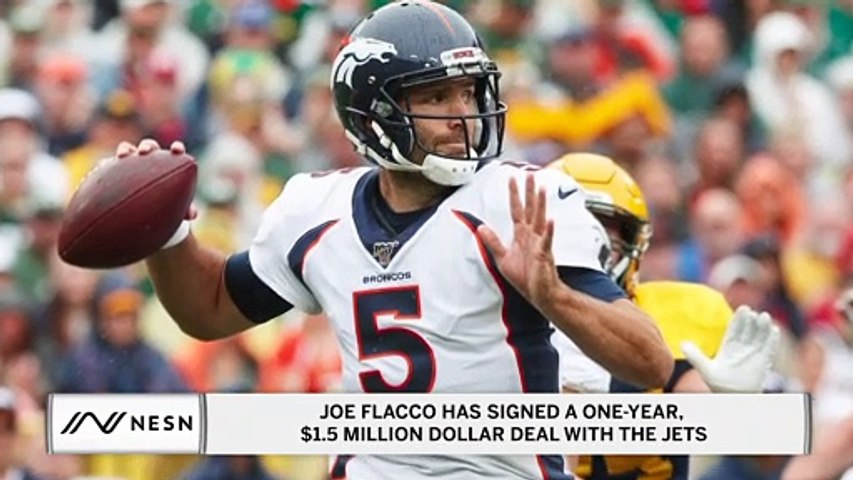 Joe Flacco Has Signed a One-Year, $1.5 Million Dollar Deal With The New York Jets
