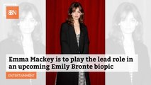 Emily Bronte Biopic Has A Lead