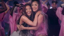 Ariana Grande & Lady Gaga Share New Collab 'Rain on Me'   Billboard News