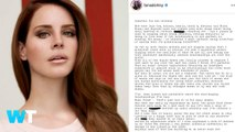 Lana Del Rey Accused of Racism for Viral Instagram Post