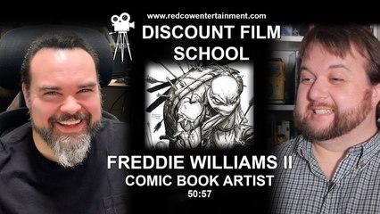 Comic Book Artist, Freddie Williams II | Discount Film School
