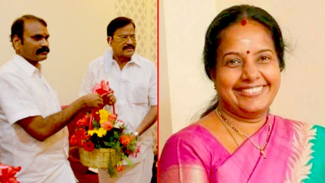 DMK VP Duraisamy | இன்னும் பலர் பாஜகவில் இணைவார்கள்... வானதி சீனிவாசன் அதிரடி