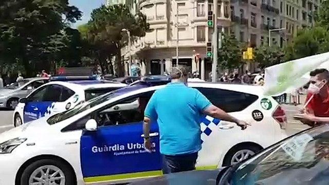 Protestas en Barcelona contra Sánchez