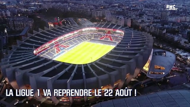 Football : La Ligue 1 va reprendre le 22 aout