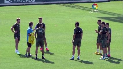 Entrenamiento de Betis en la ciudad deportiva