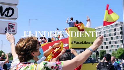 """""""Con Vox en el corazón"""": así ha sido la multitudinaria manifestación en Madrid"""