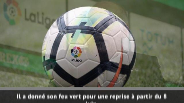 Espagne - Feu vert pour la reprise de la Liga en juin