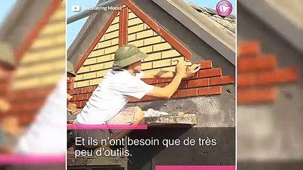 Découvrez la restauration de cette maison en brique qui date des années 70