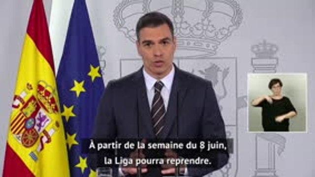 """Liga - Le gouvernement annonce une reprise """"à partir du 8 juin"""""""