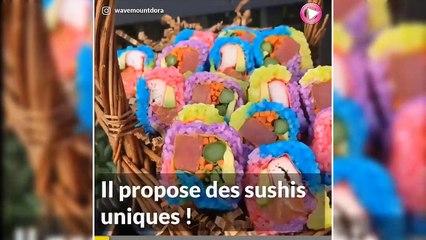 Qui veut de la Sushi Pizza  ??