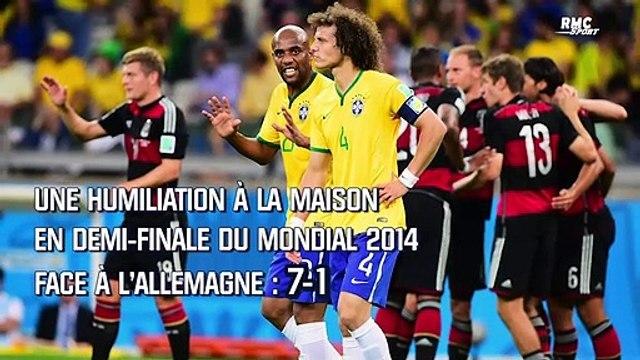 """Brésil : """"Beaucoup se sont cachés"""", les regrets de Luiz après le 7-1 contre l'Allemagne"""