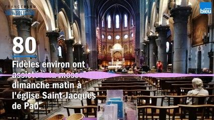 Les messes ont repris ce week-end en Béarn