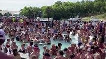 Americans hit the beach as coronavirus death toll nears 100,000