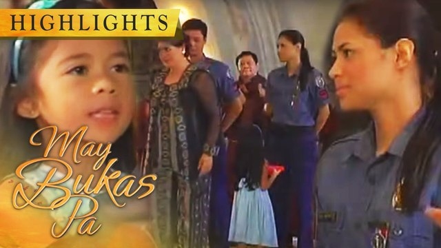 Joy invites Doña Anita to give the medals to Mario and Selda | May Bukas Pa