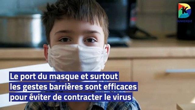 Ville de Dunkerque - La boîte à questions : Je suis asthmatique. Est ce que je serai bien protégé avec mon masque ?