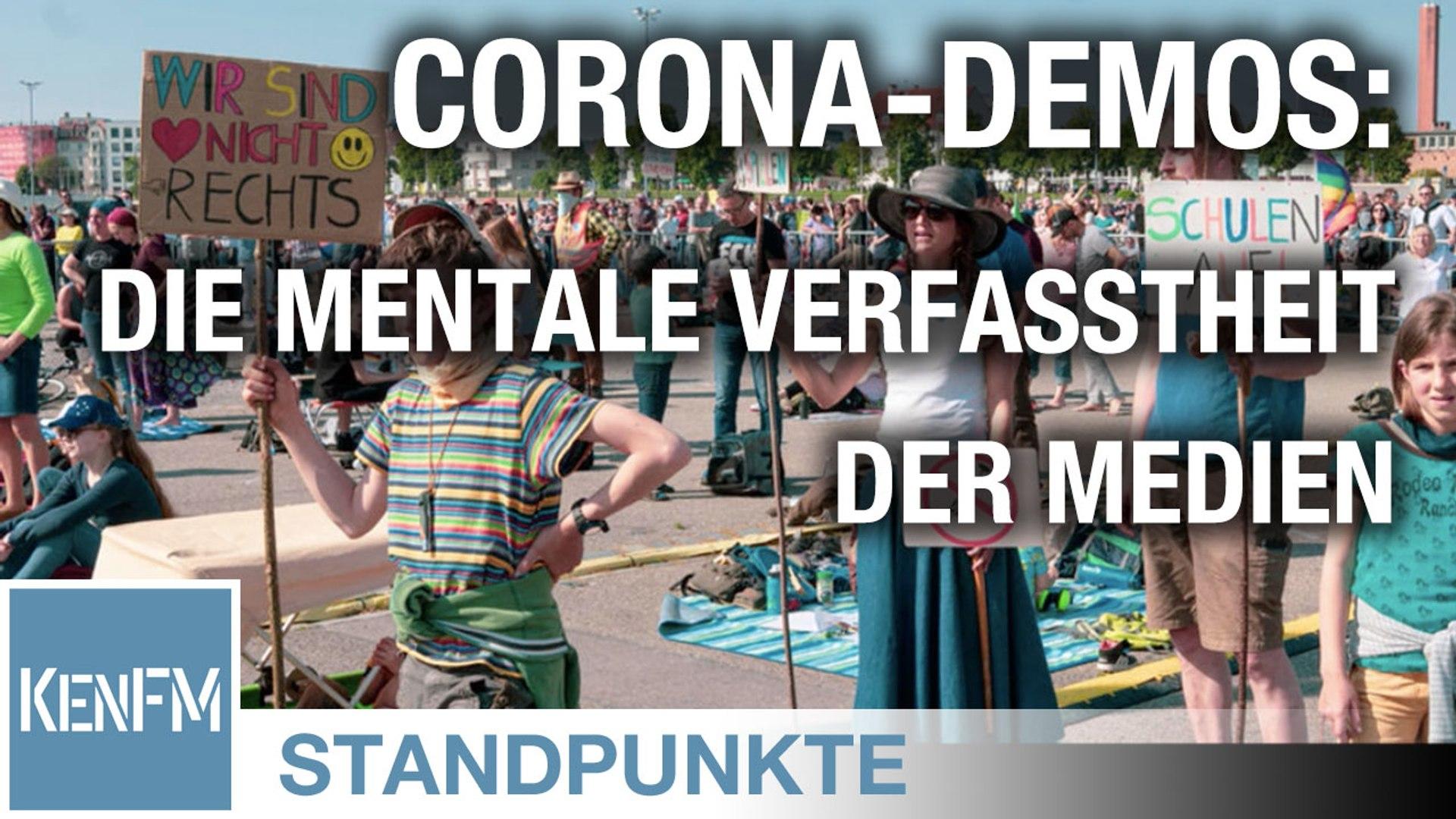 STANDPUNKTE • Corona-Demos: Ein Blick auf die mentale Verfasstheit der Medien
