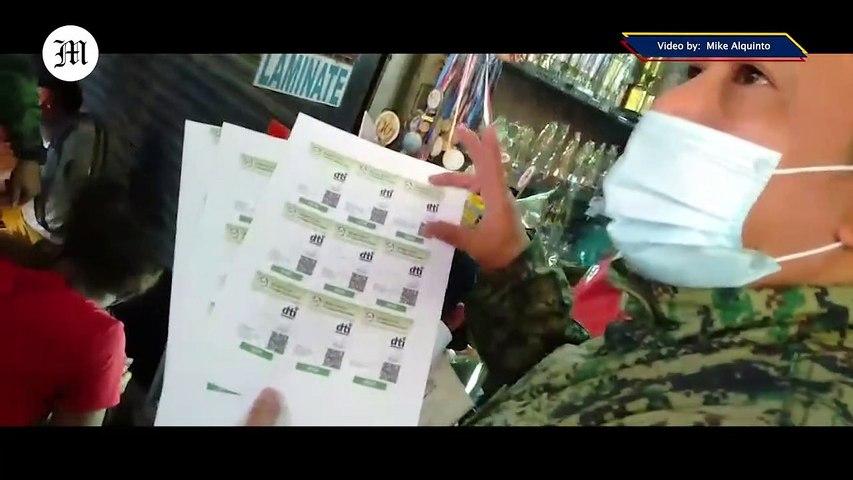 Fake IATF IDs Seized