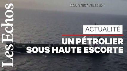 Un navire iranien chargé de produits pétroliers arrive au Venezuela
