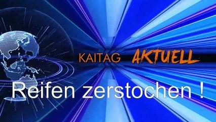 System Angriff - Reifen zerstochen !