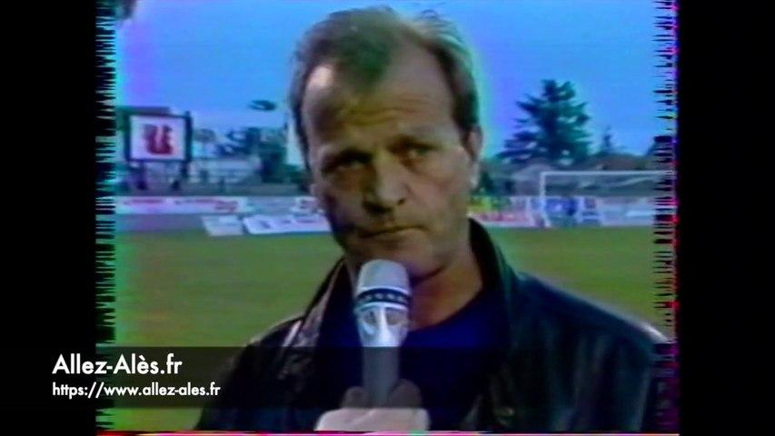 Alès / Strasbourg - D2 1989/1990