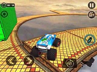 CRAZY MONSTER TRUCK LEGENDS DRIVING SIM 3D - Gameplay Walkthrough Part 13 - Incredible Blue Truck
