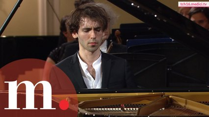 Alexandre Kantorow won the Grand Prix of the Tchaikovsky Competition with this concerto