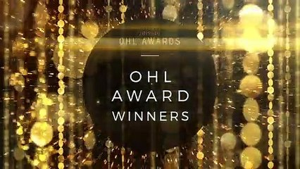 2019 – 2020 OHL Award | Jim Gregory Trophy | James Boyd