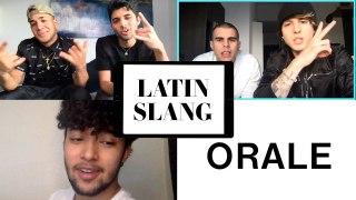 CNCO Teach You Latin Slang