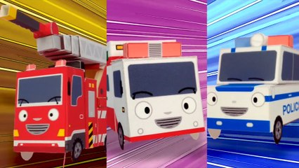 The Brave Cars l Tayo's Sing Along Show l Tayo the Little Bus