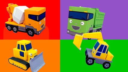 Strong Heavy Vehicles l Tayo's Sing Along Show l Tayo the Little Bus
