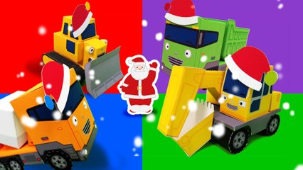 The strong heavy vehicles and it's Christmas! l Tayo's Sing Along Show l Tayo the Little Bus