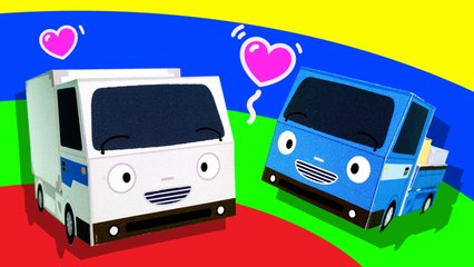 Deliver Happiness l Tayo's Sing Along Show l Tayo the Little Bus