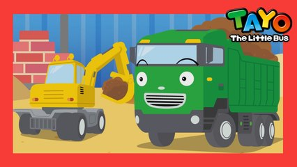 Dump Truck Song l Strong Heavy Vehicles  l Tayo's Sing Along Show l Tayo the Little Bus