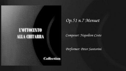 Gabriella Correnti - Menuet op.51 - Napoleon Coste