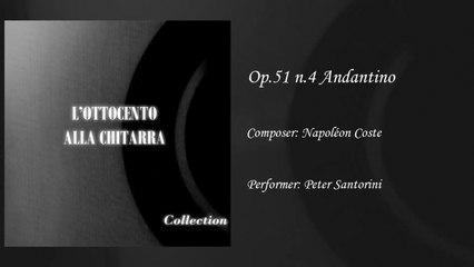 Gabriella Correnti - Andantino op.51 - Napoleon Coste