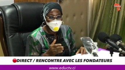 """Kandia Camara : """"80 millions de masques pour la communauté éducative"""""""