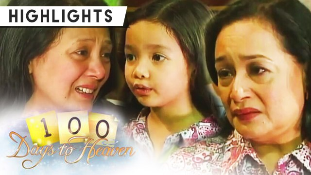 Anna indirectly asks Myrna for forgiveness | 100 Days To Heaven