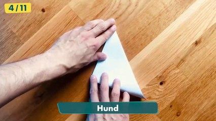 Die lustige Papierflieger-Challenge ✈️