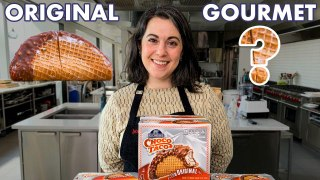 Pastry Chef Attempts to Make Gourmet Choco Tacos Part 1