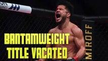 UFC Officially Vacates Henry Cejudo's Bantamweight Belt
