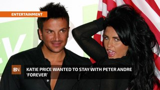 Katie Price Loved Peter Andre