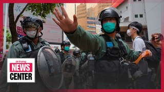 China's National People's Congress to vote on Hong Kong security law on Thurs.