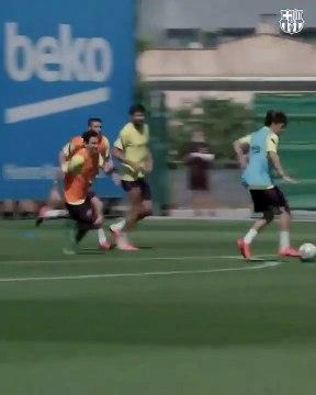 La vidéo qui montre à quel point Messi est en forme