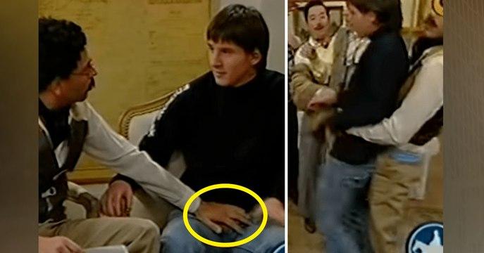 """Les """"blagues"""" sexuelles surréalistes dont a été victime Lionel Messi à 18 ans"""