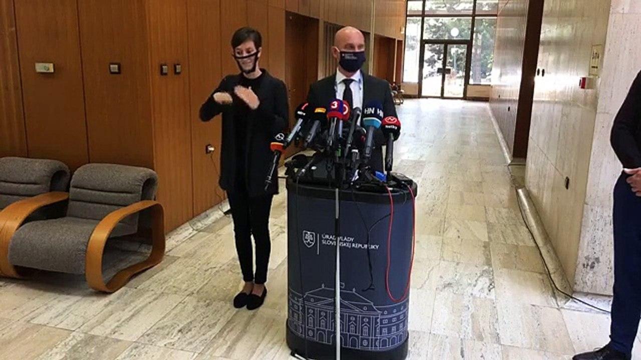 ZÁZNAM: Brífing ministra školstva, vedy, výskumu a športu B. Gröhlinga